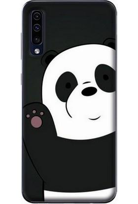 GoGo Samsung Galaxy A50 Panda Baskılı Silikon Kılıf