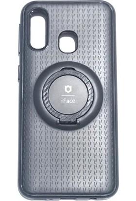 iface Samsung M20 iface Yüzüklü Standlı Mıknatıslı Kılıf