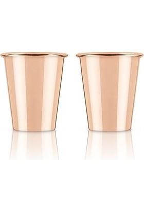Copperbucker 4'lü Bakır Shot Bardağı Seti