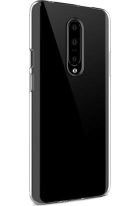Ssmobil Oneplus 7T Pro Kamera Korumalı Soft Şeffaf Silikon Kılıf Şeffaf