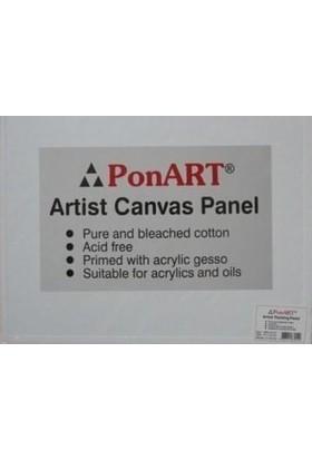 Ponart Pres Tuval 18 x 24 cm Artist Canvas Panel