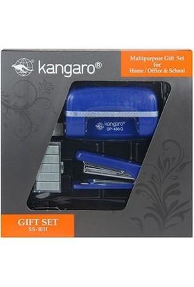 Kangaro Delgeç Zımba Seti Ss-10H Mavi Set