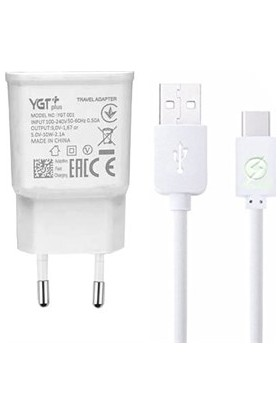YGT Plus Qualcomm 3.0 USB Type-C 2.1 A Hızlı Şarj Cihazı