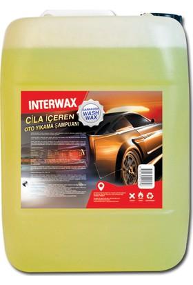 Interwax Cilalı Oto Yıkama Şampuanı 5 kg