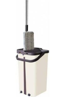 Turuncu Koli Tablet Spin Mop 12 lt Temizlik Kova Seti Paspas