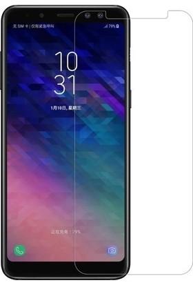 Efsunkar Samsung Galaxy A8 Plus 2018 Micro Nano Temperli Ekran Koruyucu