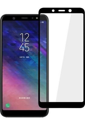 Efsunkar Samsung Galaxy A9 2018 Full Tam kaplayan Ekran Koruyucu