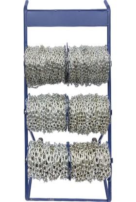 Kos Halat Zincir Makaralı Zincir 25 kg - 1 Top - 6 mm 35 M