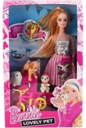 Efe Minişli Aksesuarlı Bonnie Barbie Bebek