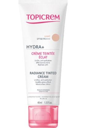Topicrem Aydınlatıcı Renkli Bakım Kremi Hydra Radiance Tinted Cream Light 40ML