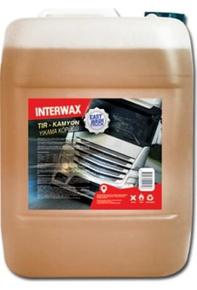 Interwax Easy Wash Truck Fırçasız Tır-Kamyon Yıkama Köpüğü 25 kg