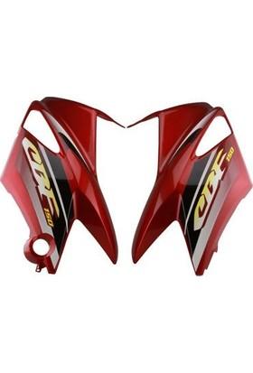 Honda Cbf 150 Kırmızı Yan Grenaj Takımı Yeni Model