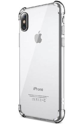 Zore Fujimax Apple iPhone 11 Nitro 4 Köşe Antishock Silikon Kılıf - Şeffaf