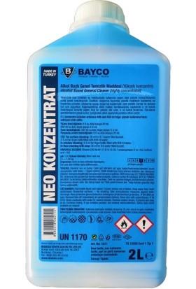 Bayco Neo Konzentrat Alkol Bazlı Genel Temizlik Maddesi Konsantre 2 lt