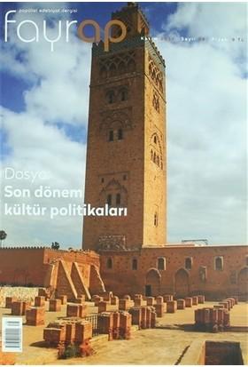 Fayrap Popülist Edebiyat Dergisi Sayı: 78 Kasım 2015