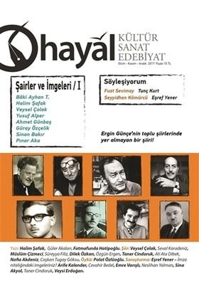 Hayal Kültür Sanat Edebiyat Dergisi: 63 (Ekim-Kasım-Aralık) 2017