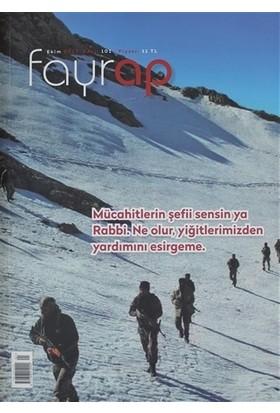 Fayrap Popülist Edebiyat Dergisi Sayı: 101 Ekim 2017