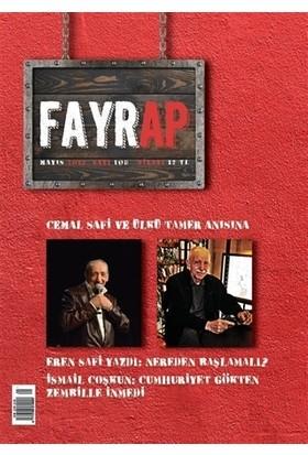 Fayrap Popülist Edebiyat Dergisi Sayı: 108 Mayıs 2018