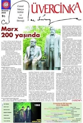 Üvercinka Dergisi Sayı: 43 Mayıs 2018