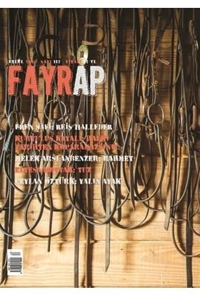 Fayrap Popülist Edebiyat Dergisi Sayı: 112 Eylül 2018