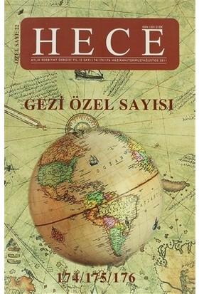 Hece Aylık Edebiyat Dergisi Gezi Özel Sayısı: 22 - 174/175/176