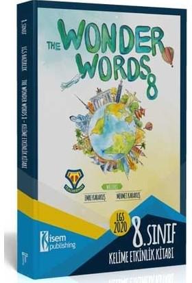 İsem Yayıncılık 2020 8. Sınıf Ingilizce Kelime Etkinlik Kitabı - The Wonder Words 8