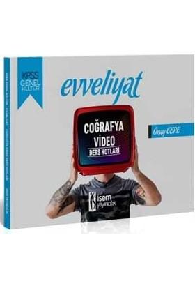 İsem Yayıncılık 2020 Evveliyat KPSS Genel Yetenek Coğrafya Video Ders Notları