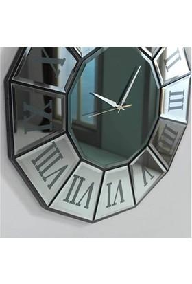 Dekor Bizden Bronz Ayna Saat