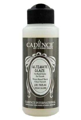 Cadence Ultimate Glaze Su Bazlı Vernik Çok Parlak 120 ml