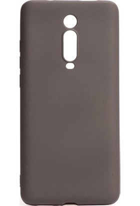 Kaltel Gsm Xiaomi Mi 9 Mat Premier Silikon Kılıf + USB Kablo + Cam Ekran Koruyucu - Siyah