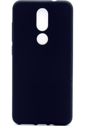 Kaltel Gsm Casper Via A2 Mat Premier Silikon Kılıf + USB Kablo + Cam Ekran Koruyucu - Siyah
