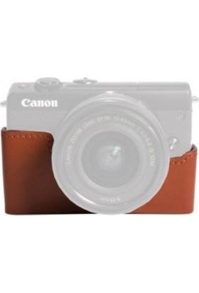 Canon CC-FJ001 Eos M100 Koruyucu Deri Kılıf (Distribütör Garantili)