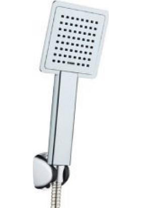 Seay Kare Krom Mafsallı Duş Takımı Duş Seti Komple Takım 22000