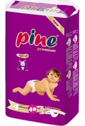 Pine Maxi (7-18 Kg) Bebek Bezi 4 Paket 40 Lı