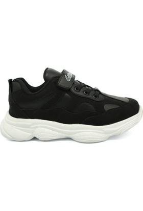 Lafonten La Fonten Siyah Hafif Kalın Taban Çocuk Sneaker