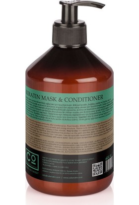 CO Professional AfterKeratin Mask & Conditioner 500ml * Keratin Sonrası Bakım Kremi