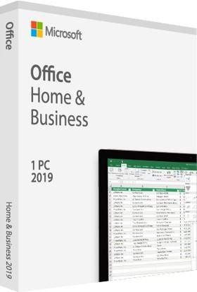 Microsoft Office 2019 Home and Business 32/64 Bit İngilizce/Türkçe Kutu T5D-03219
