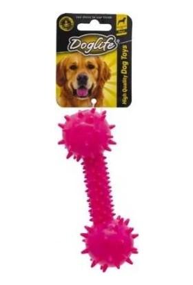 Doglife Köpekler İçin Zilli Kauçuk Dumbell 14 cm