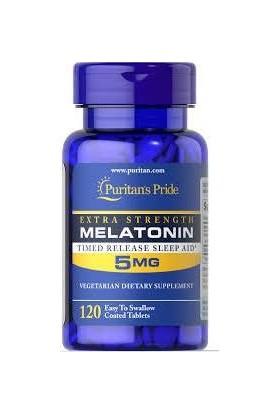 Puritans Pride Melatonin 5 Mg 120 Tablet