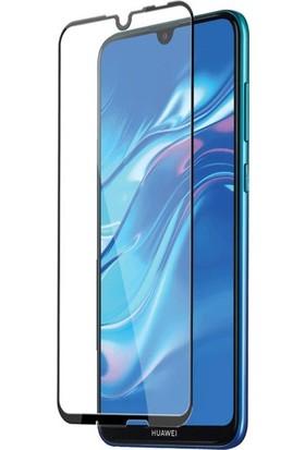Tekno Grup Huawei Honor 8A Tam Kaplayan 5D Cam Ekran Koruyucu - Şeffaf