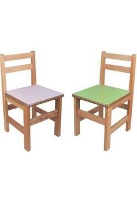 Montessori Anaokulu Sandalyesi 2'li