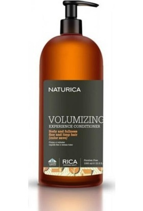 Naturica Volumizing Experience Conditioner - Hacimlendirici Saç Kremi 1000 ml
