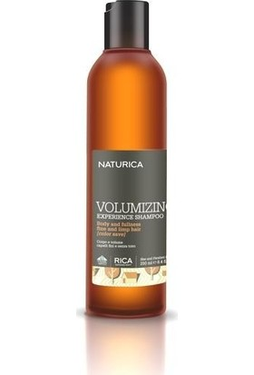 Naturica Volumizing Experience Shampoo - Hacimlendirici Şampuan 250 ml