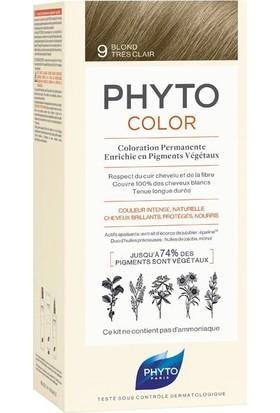 Phyto Phytocolor Bitkisel Saç Boyası - 9 - Açık Sarı