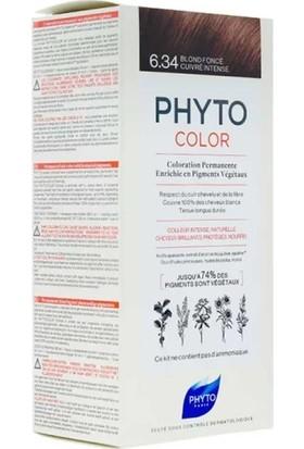 Phyto Phytocolor Bitkisel Saç Boyası 6.34 - Koyu Kumral Dore Bakır