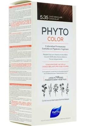 Phyto Phytocolor Bitkisel Saç Boyası 5.35 - Açık Kestane Dore Akaju