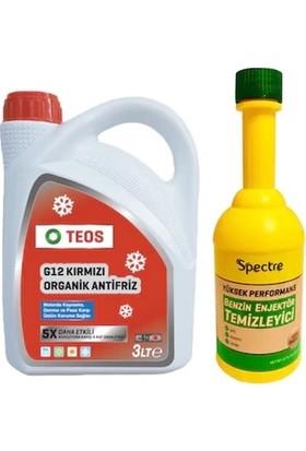 Teos -40 Organik Antifriz + Spectre Benzin Enjektör Temizleyici