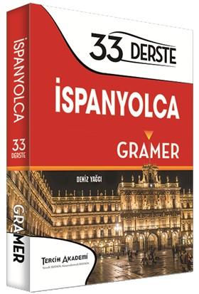 Tercih Akademi Yayınları İspanyolca Gramer - 33 Derste İspanyolca Gramer