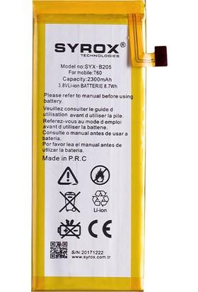 Syrox-B205 Turkcell T60 2400 mAh Batarya Pil