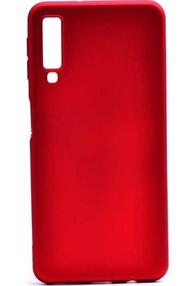 Teleplus Samsung Galaxy A30s Lüks Silikon Kılıf Kırmızı